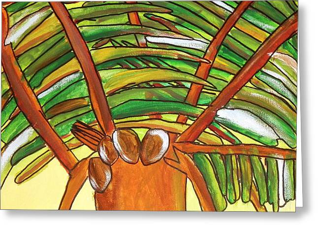 Brandon Drucker Greeting Cards - 4Coconuts Greeting Card by Brandon Drucker