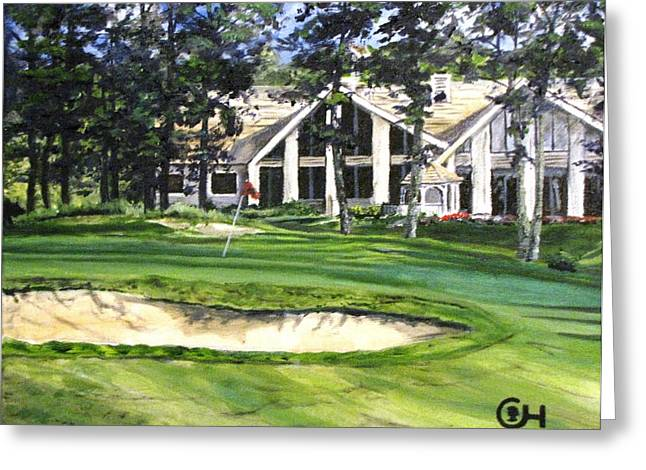 4th Andrew Hudson Memorial Golf Tournament Greeting Card by Kevin F Heuman