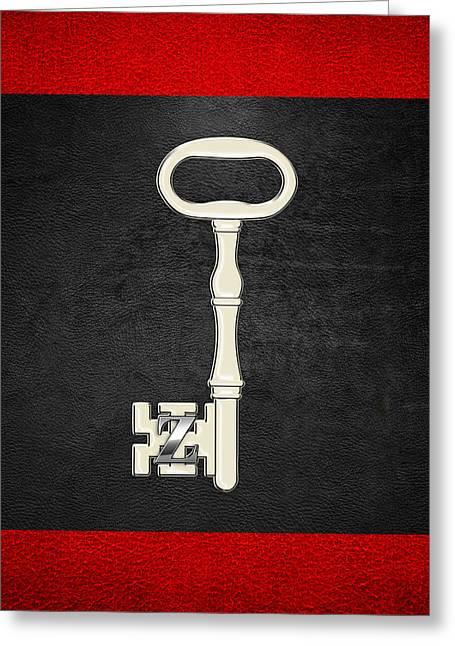Masters Degree Greeting Cards - 4th Degree Mason - Secret Master or Master Traveler Masonic Jewel  Greeting Card by Serge Averbukh