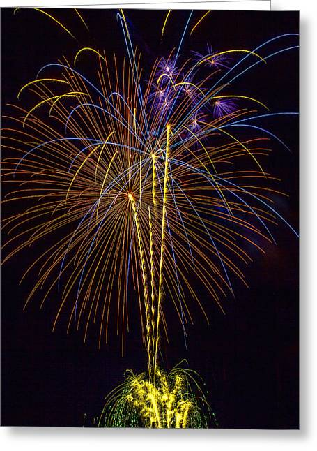 4th July #14 Greeting Card by Diana Powell