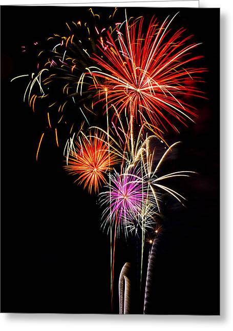 Fourth Of July Photographs Greeting Cards - 4th of July 2012 Greeting Card by Saija  Lehtonen