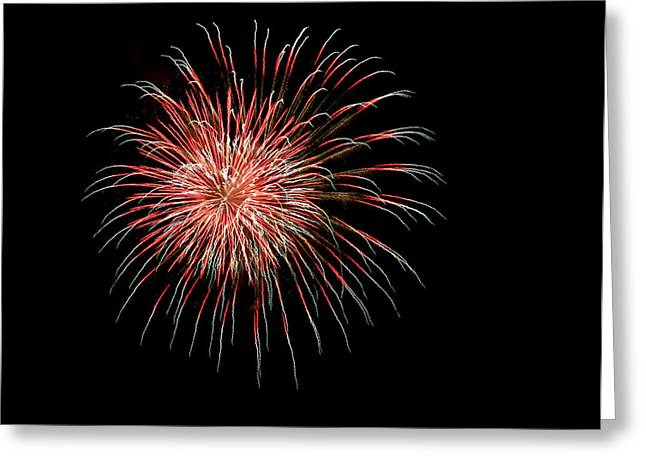 4th of July 4 Greeting Card by Marilyn Hunt