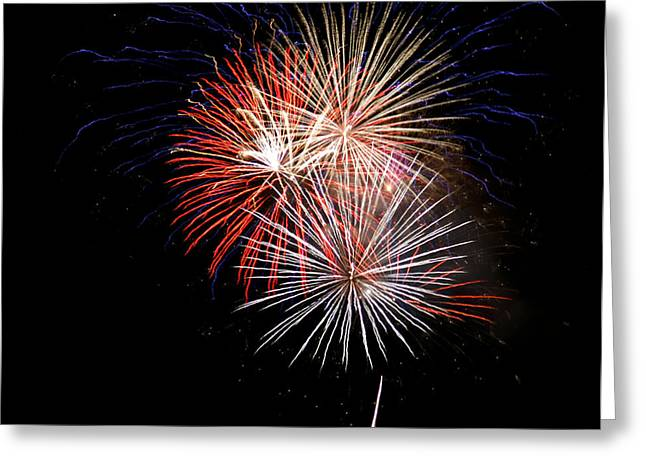 4th Of July 7 Greeting Card by Marilyn Hunt