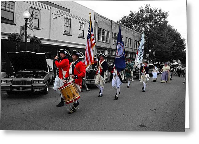 4th July Digital Art Greeting Cards - 4th Of July Celebration Greeting Card by Stephen Lilly