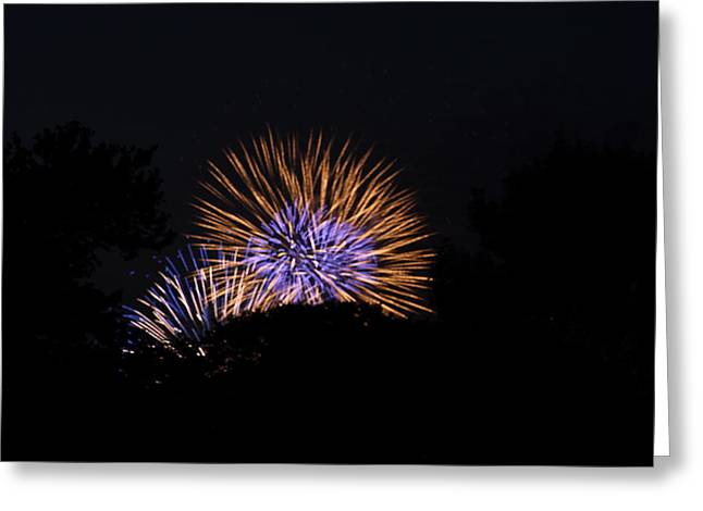 4th of July Fireworks - 011315 Greeting Card by DC Photographer