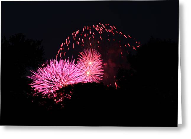 Shutter Greeting Cards - 4th of July Fireworks - 011325 Greeting Card by DC Photographer