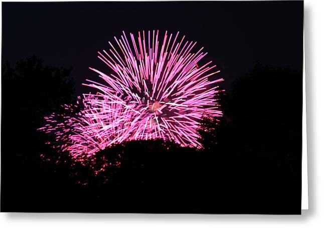 4th Of July Fireworks - 011326 Greeting Card by DC Photographer