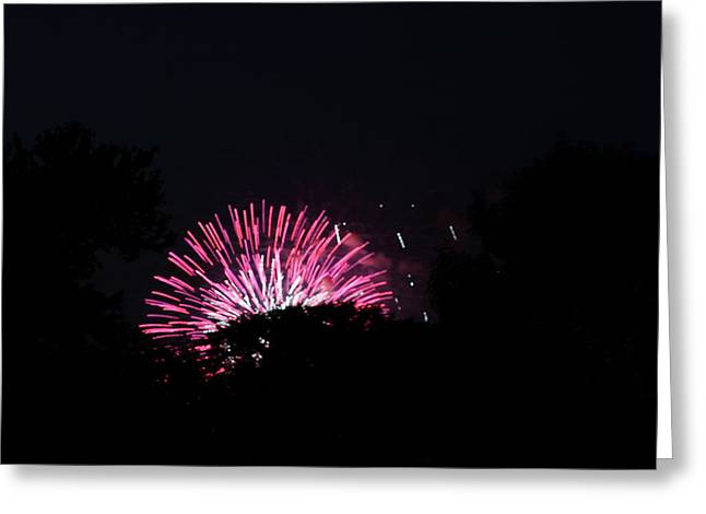 4th Of July Fireworks - 011329 Greeting Card by DC Photographer
