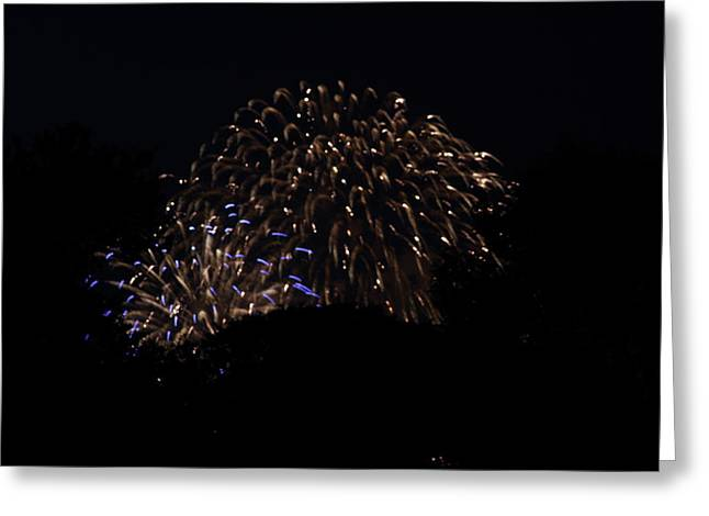 4th of July Fireworks - 011332 Greeting Card by DC Photographer