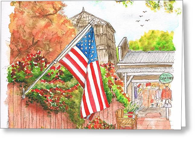 4th of July in Los Olivos - California Greeting Card by Carlos G Groppa