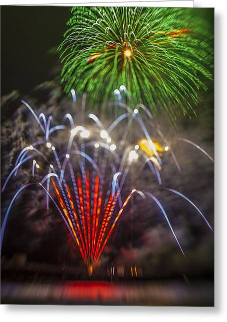 Independance Greeting Cards - 4th of July through the Lens Baby Greeting Card by Scott Campbell