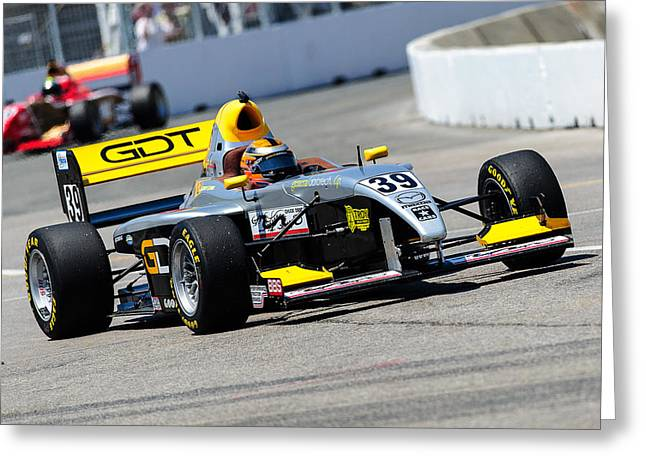 Indy Car Greeting Cards -  IndyCar 2012 - Honda Indy Toronto Practice Greeting Card by Igor Vidyashev