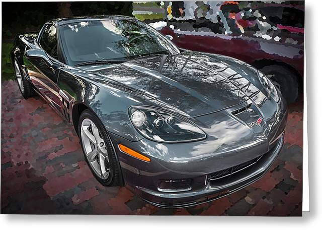 Limited Edition Photographs Greeting Cards - 2010 Chevrolet Corvette Grand Sport  Greeting Card by Rich Franco