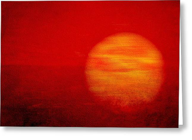 Abstract Picture Greeting Cards - Abstract Art Greeting Card by Heike Hultsch