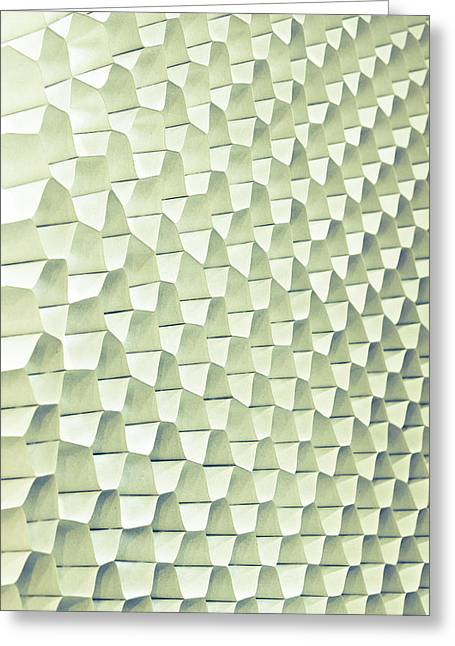 Abstract Pattern Greeting Card by Tom Gowanlock