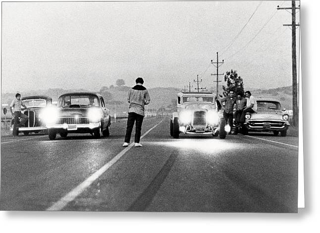 American Graffiti  Greeting Card by Silver Screen