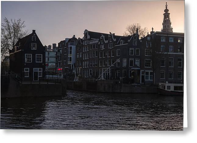 North Holland Greeting Cards - Amsterdam Greeting Card by Joana Kruse