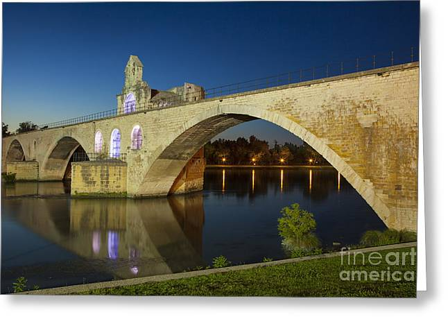 Nicholas Greeting Cards - Avignon Bridge Greeting Card by Brian Jannsen