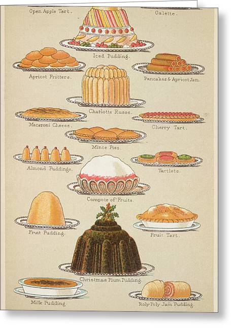 Beeton's Book Household Management Greeting Card by British Library