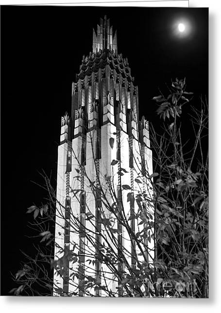 Tulsa Oklahoma. Architecture Greeting Cards - Boston Avenue Methodist Church in Tulsa Oklahoma in the Art Deco Greeting Card by ELITE IMAGE photography By Chad McDermott