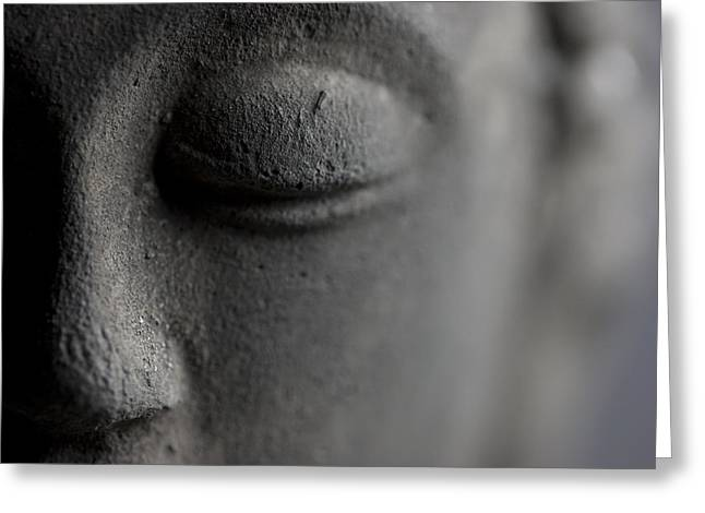 Asien Photographs Greeting Cards - Buddha Greeting Card by Falko Follert