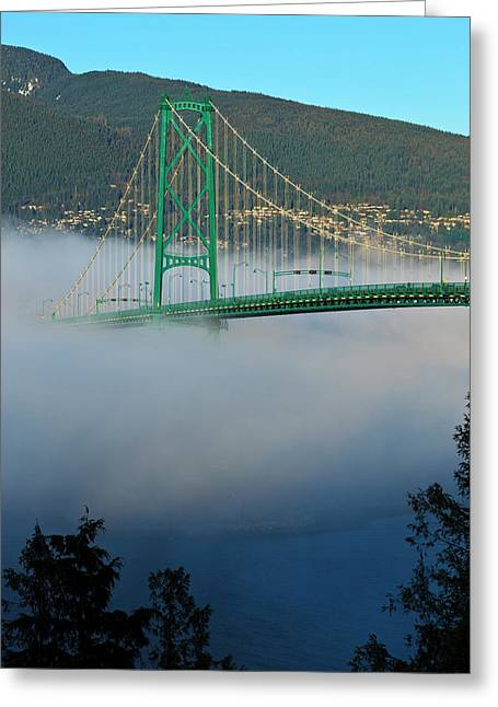 Canada, British Columbia, Vancouver Greeting Card by Rick A Brown