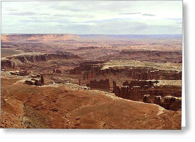 Arkansas Greeting Cards - Canyonlands National Park in Utah Greeting Card by Brett Pfister