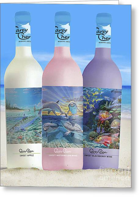 Appleton Art Greeting Cards - Carey Chen fine art wines Greeting Card by Carey Chen