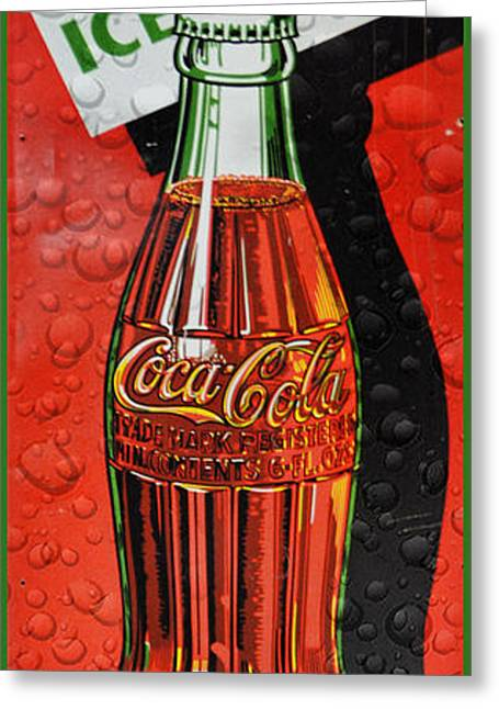 5 Cents Greeting Cards - 5 cent Coca-Cola from 1886 - 1959 Greeting Card by Douglas MooreZart