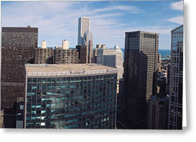 Sprawl Greeting Cards - Chicago Il Greeting Card by Panoramic Images