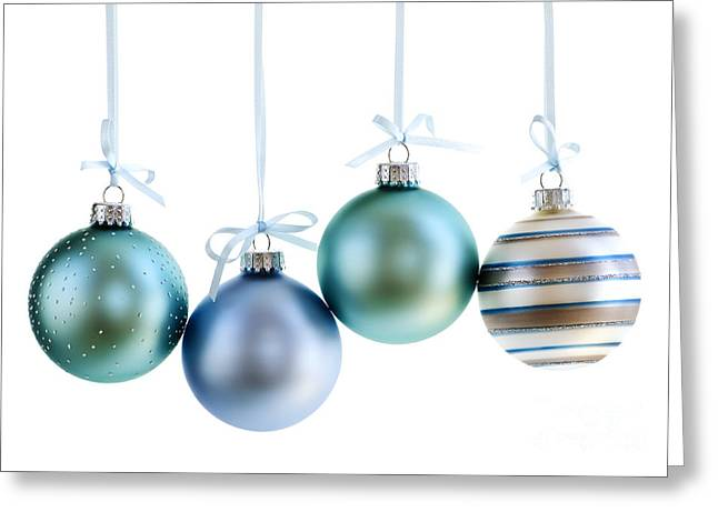 Festivities Greeting Cards - Christmas ornaments Greeting Card by Elena Elisseeva