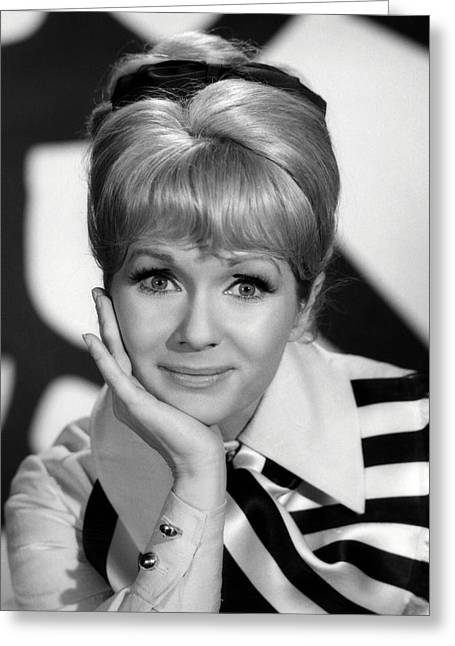 Debbie Reynolds Greeting Cards - Debbie Reynolds Greeting Card by Silver Screen