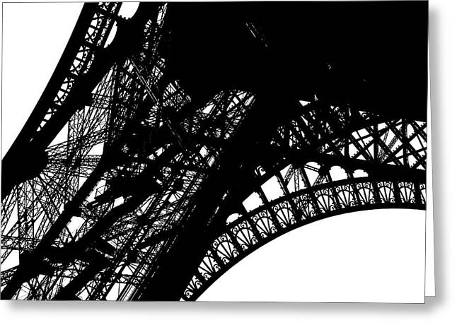 Steel Construction Greeting Cards - Eiffel Tower Greeting Card by Chevy Fleet