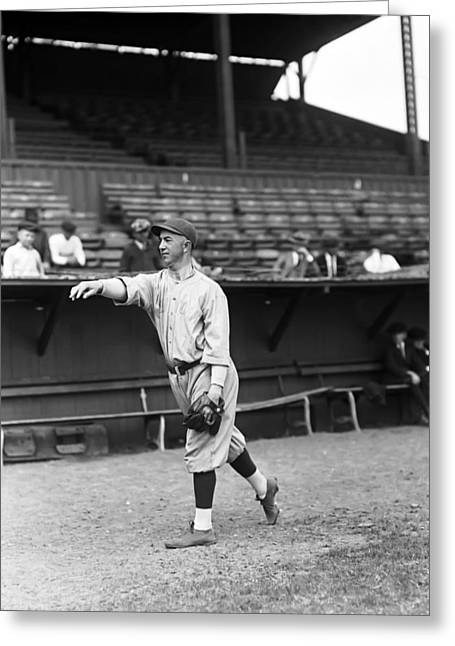 Yankees Shortstop Greeting Cards - Everett Scott Greeting Card by Retro Images Archive