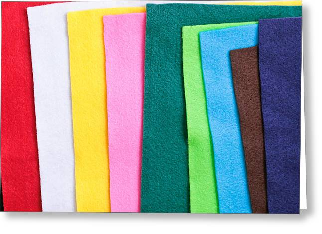 Diverse Photographs Greeting Cards - Felt Greeting Card by Tom Gowanlock