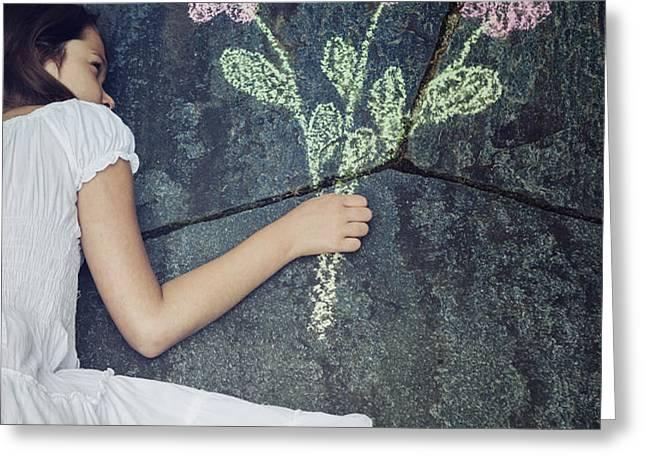 flowers Greeting Card by Joana Kruse