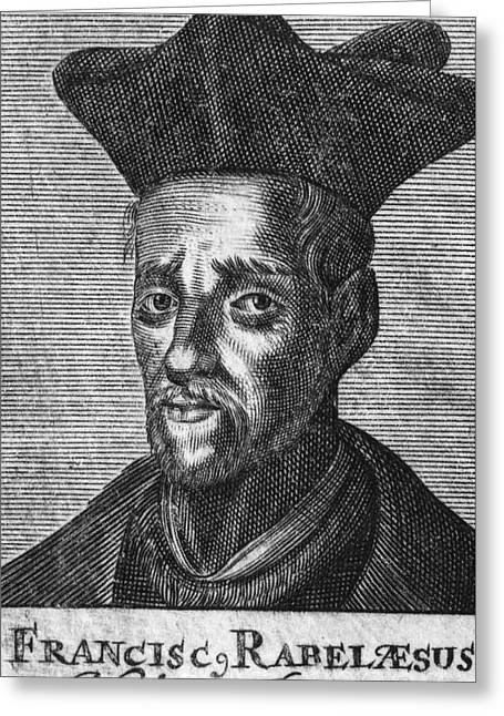 Francois Greeting Cards - Francois Rabelais Greeting Card by Granger