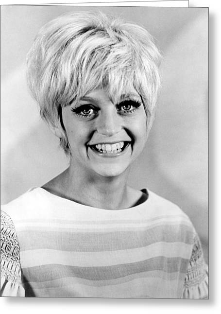 Goldie Hawn Greeting Cards - Goldie Hawn Greeting Card by Silver Screen