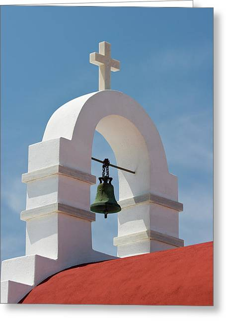 Greece, Mykonos, Hora Greeting Card by Jaynes Gallery