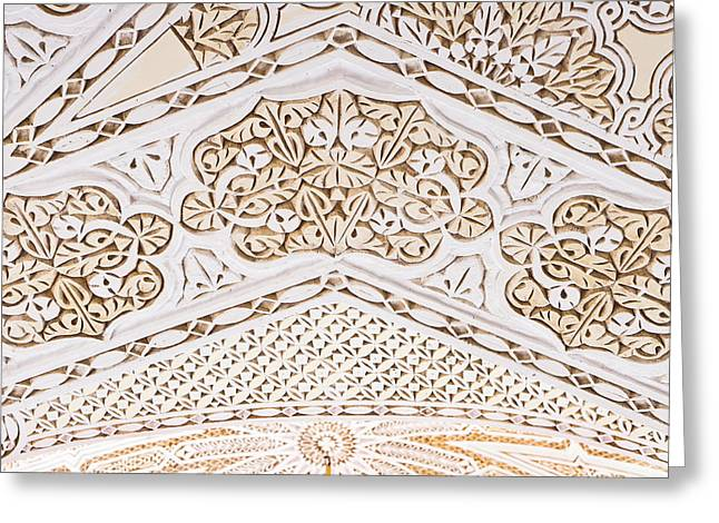 Arabic Greeting Cards - Islamic architecture Greeting Card by Tom Gowanlock