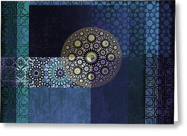 Islamic Art Greeting Cards - Islamic Motives Greeting Card by Corporate Art Task Force