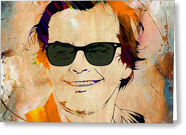 Jack Greeting Cards - Jack Nicholson Collection Greeting Card by Marvin Blaine