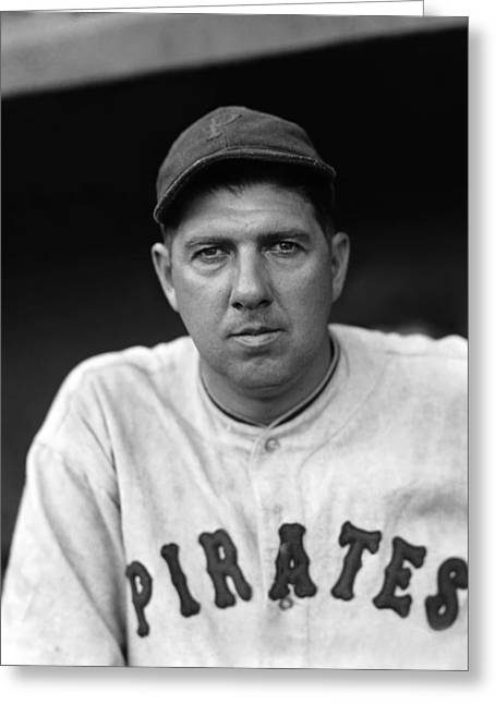 Pirates Photographs Greeting Cards - James D. Jim Weaver Greeting Card by Retro Images Archive