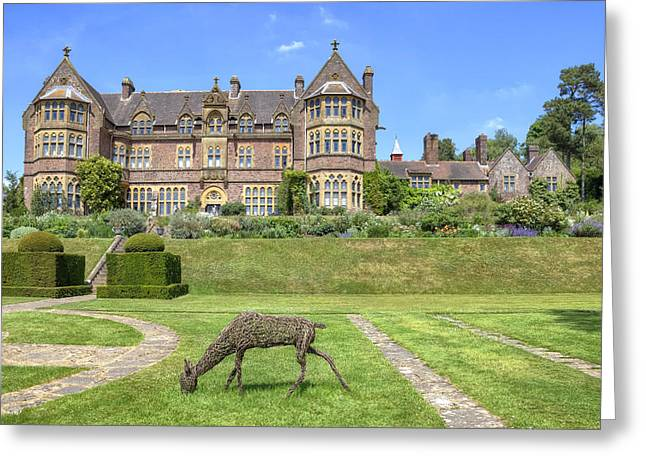 Devon Greeting Cards - Knightshayes Court Greeting Card by Joana Kruse