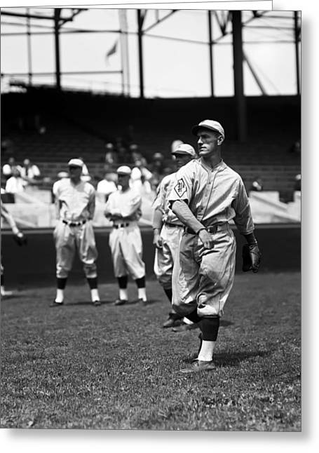 Philadelphia Phillies Stadium Greeting Cards - Lafayette F. Fresco Thompson Greeting Card by Retro Images Archive