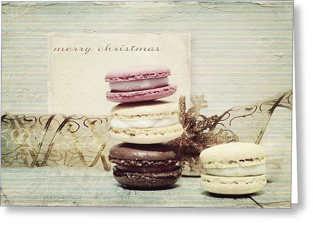 Surprise Mixed Media Greeting Cards - Merry Christmas Greeting Card by Heike Hultsch