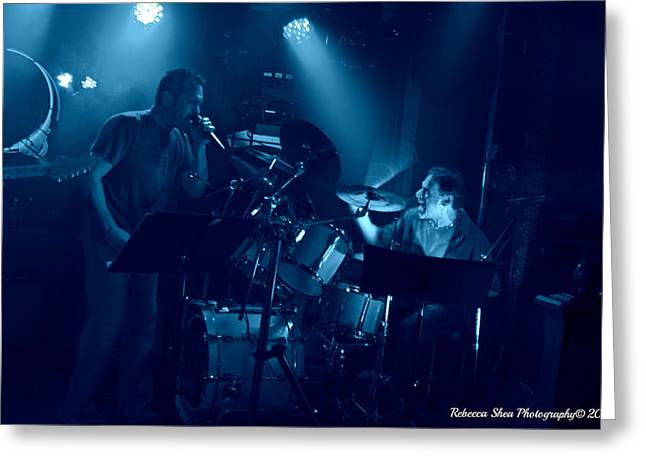 Pearl Jam Photographs Greeting Cards - Milwaukee - Papas Social Pub Greeting Card by Rebecca Shea Photography Kalmanson