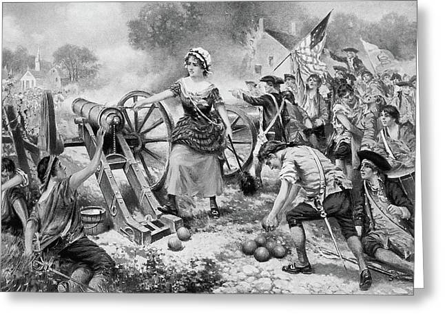 Molly Pitcher (1754?-1832) Greeting Card by Granger