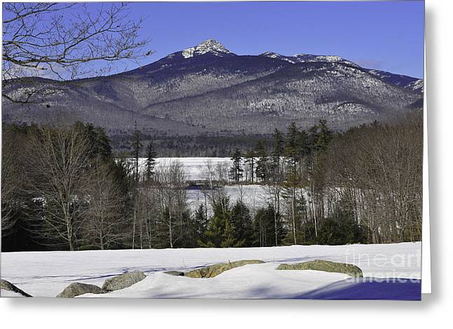 Tamworth Greeting Cards - Mount Chocorua Greeting Card by Catherine Reusch  Daley