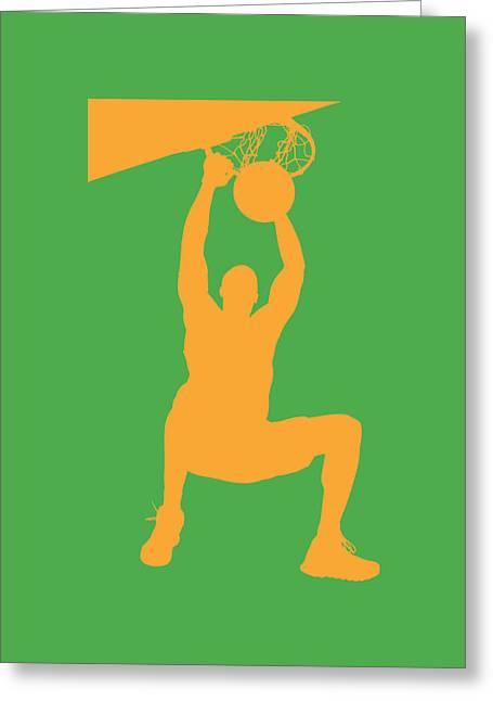 Basketballs Photographs Greeting Cards - Nba Shadow Players Greeting Card by Joe Hamilton